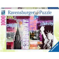 Ravensburger Style Collage New York City 1000 dielov