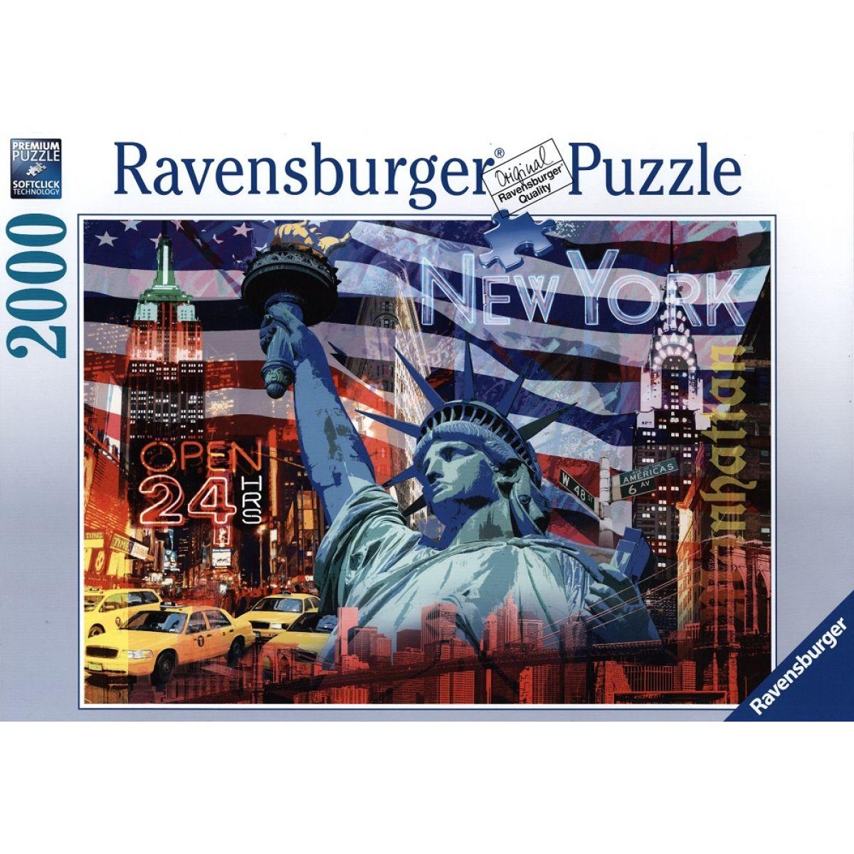 Ravensburger New York Collage 2000 dielov