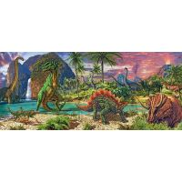 Ravensburger Panorama V zemi dinosaurů 200 dílků 2