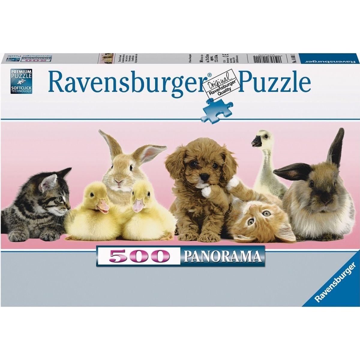 RAVENSBURGER 500 dílků Zvířecí přátelé