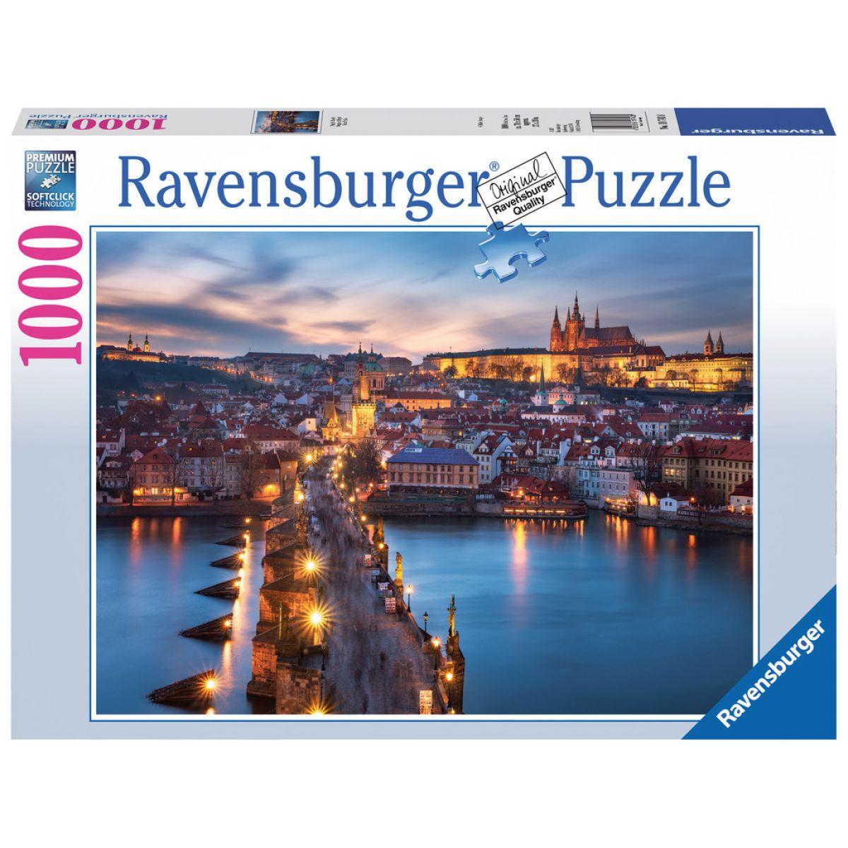 Ravensburger Puzzle Praha v noci 1000 dielikov