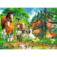 Ravensburger Puzzle Premium 106417 Zvieratá spolu 100 XXL dielikov