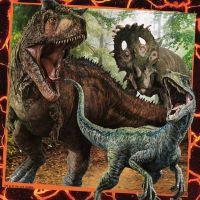 Ravensburger Puzzle Premium Jurský svet Zánik ríše 3 x 49 dielikov 2