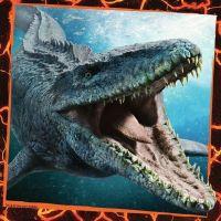 Ravensburger Puzzle Premium Jurský svet Zánik ríše 3 x 49 dielikov 3