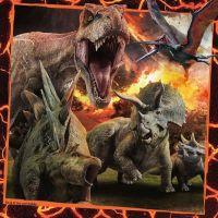 Ravensburger Puzzle Premium Jurský svet Zánik ríše 3 x 49 dielikov 4