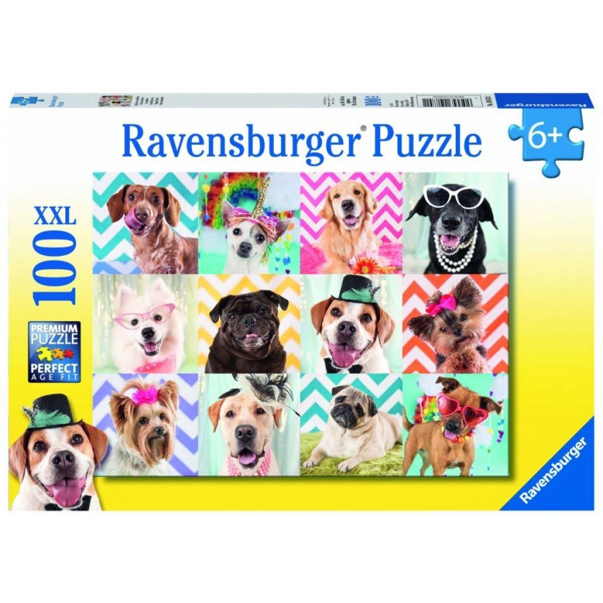 Ravensburger Puzzle Premium Psy 100XXL dielikov