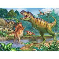 Ravensburger Puzzle Premium Svet dinosaurov 100XXL dielikov + Coloring Booklet 2