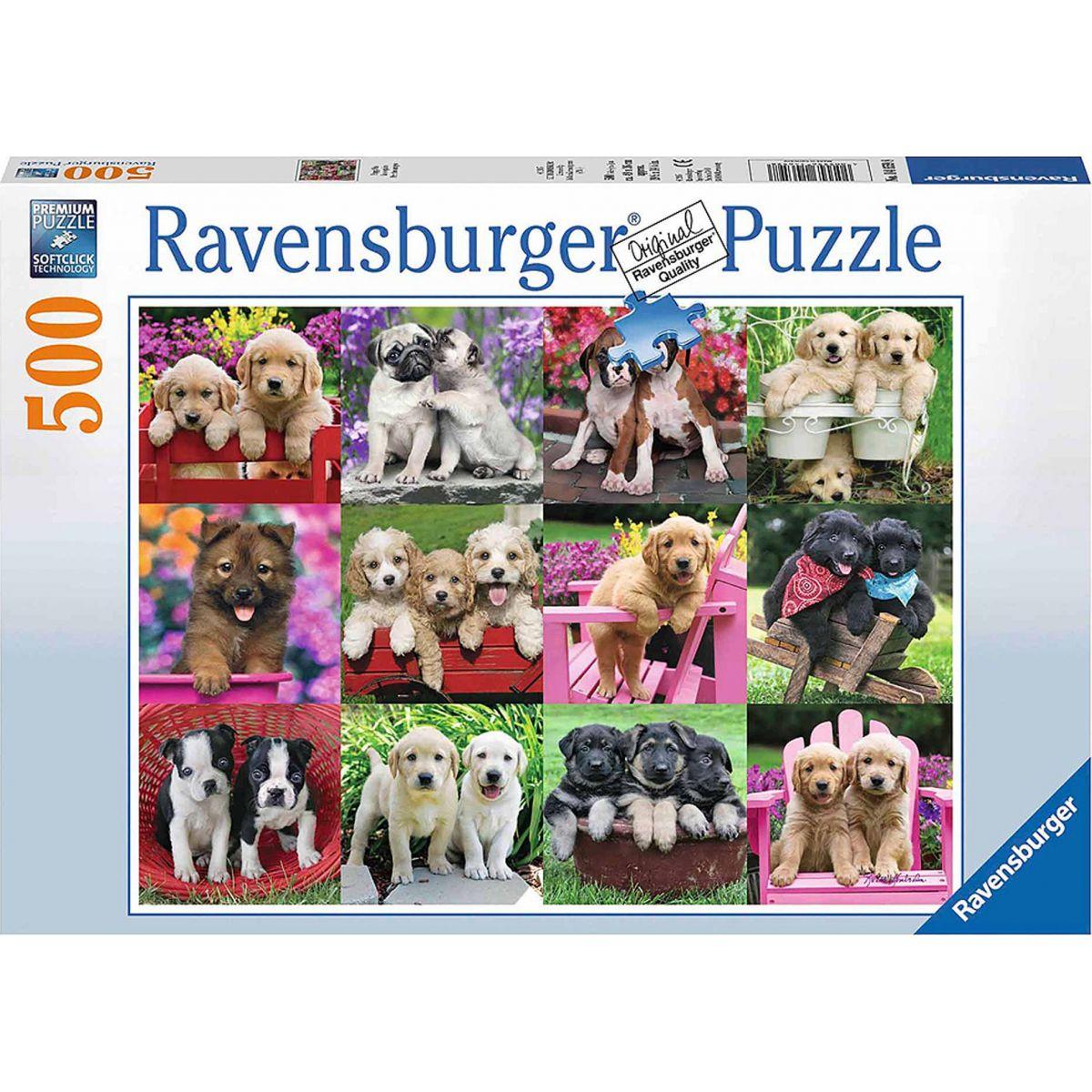 Ravensburger psí kamaráti 500 dielikov