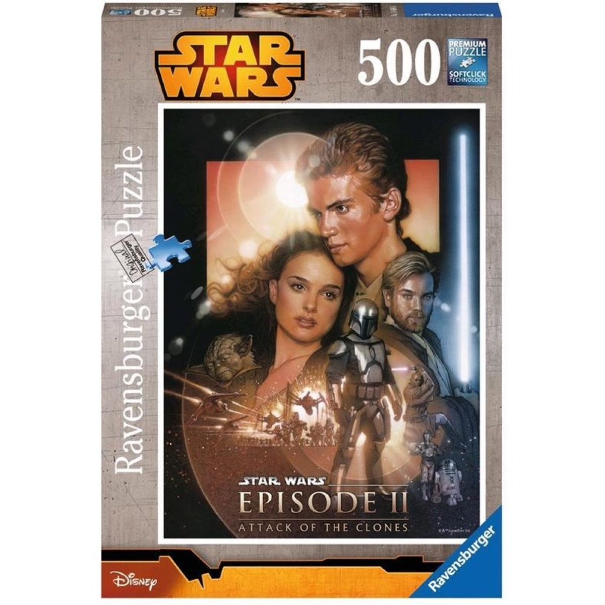 RAVENSBURGER Star Wars 500D Collage Aus 1-6