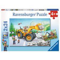 Ravensburger Stroje v akci 2 x 24 dílků