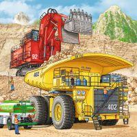 Ravensburger Puzzle Veľké pracovné stroje 3 x 49 dielikov 2
