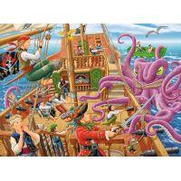 Ravensburger Puzzle XXL Dobrodružstvo na pirátskej lodi 100 dielikov 2