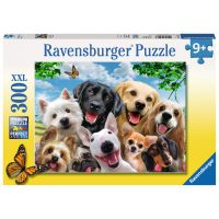 Ravensburger XXL Psie úsmevy 300 dielikov