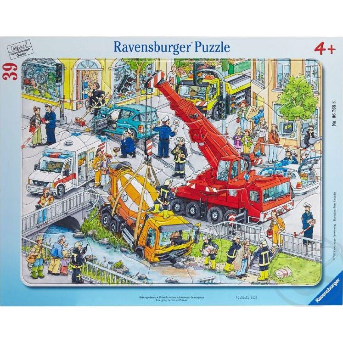 Ravensburger puzzle Záchranné nasadenie 39 dielikov