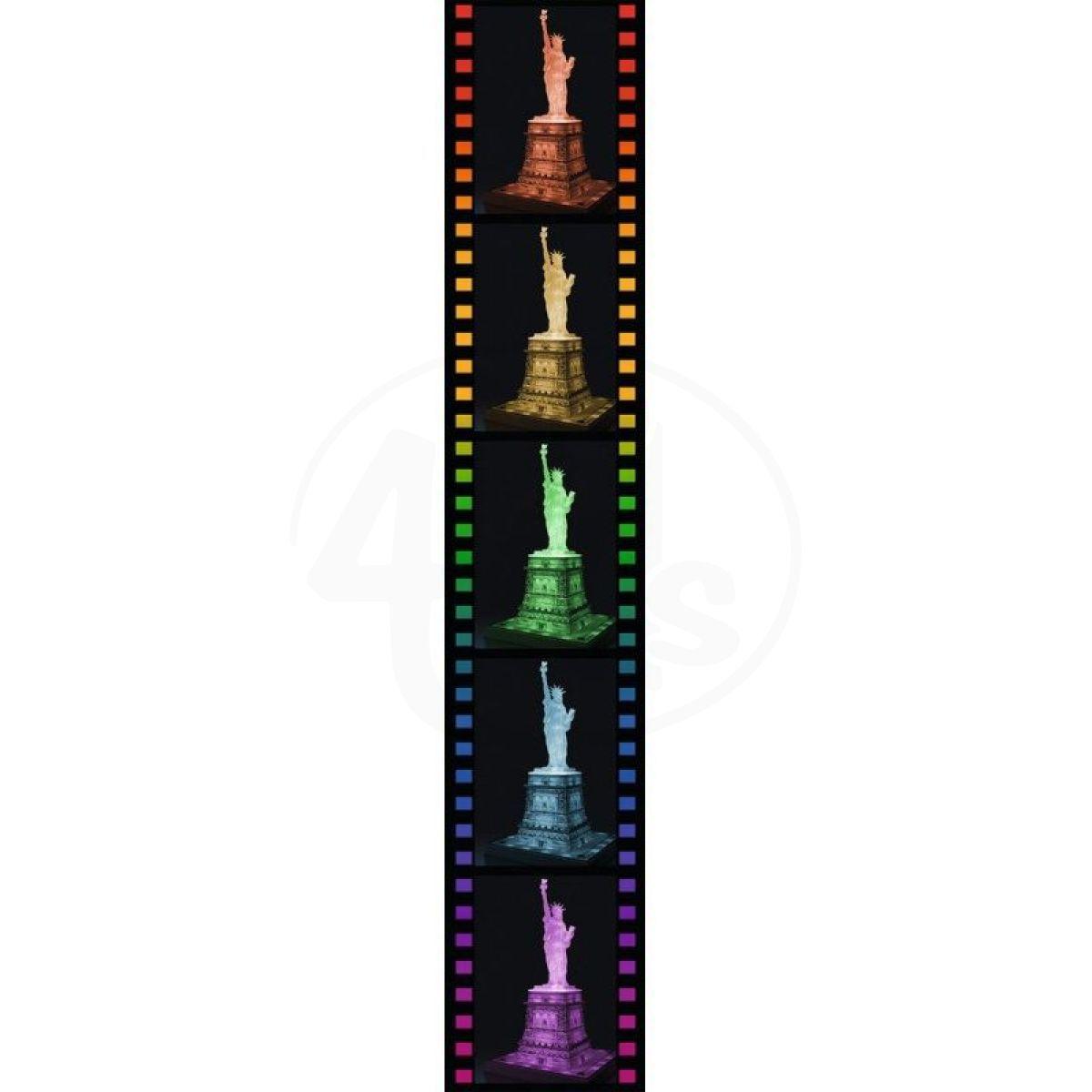 9829bb61e Ravensburger 3D Puzzle svítící Socha Svobody 108 dílků   4kids