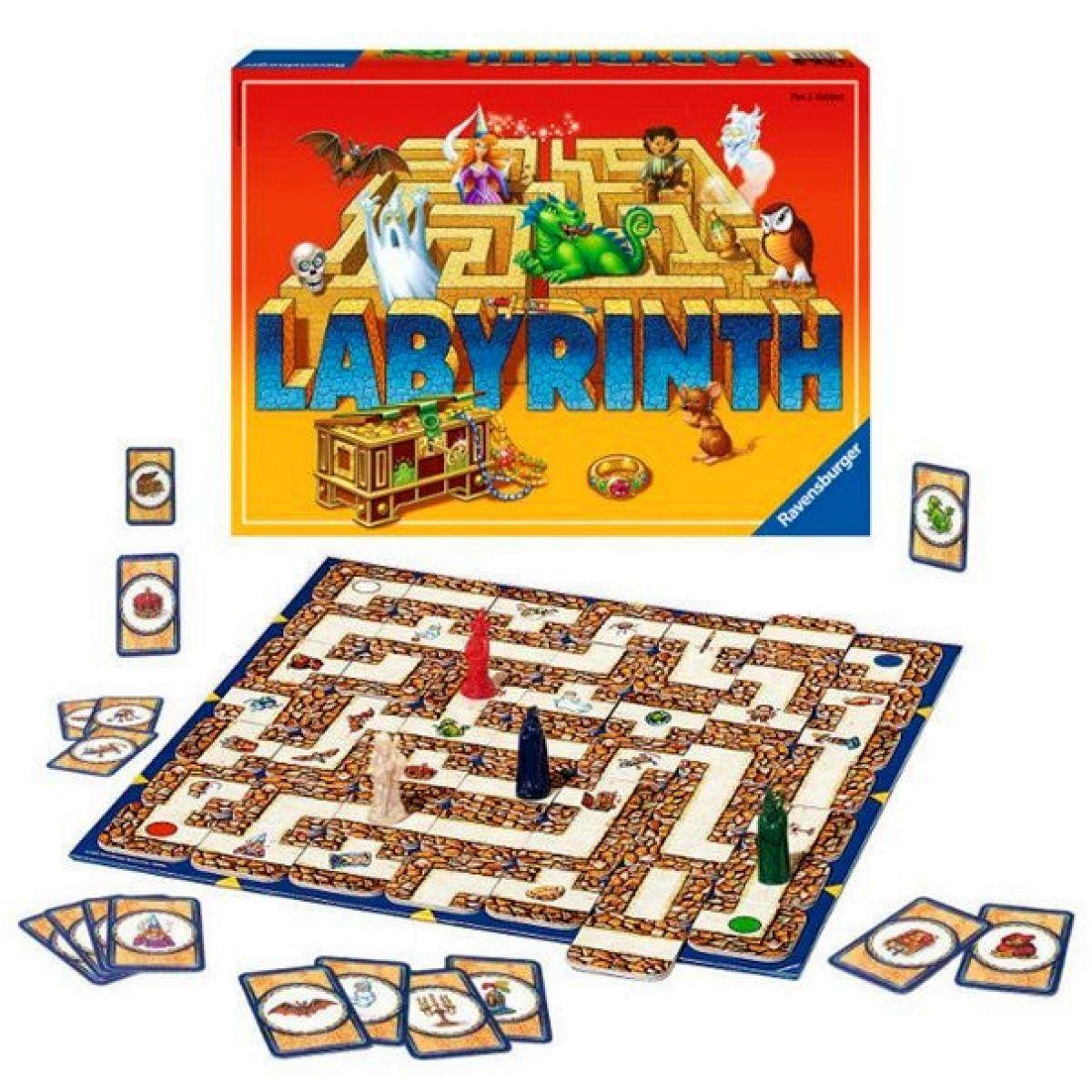 Ravensburger Tajemnice Labyrintu - Poškozený obal