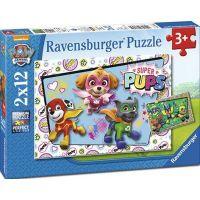Ravensburger Tlapková Patrola 2 x 12 dílků