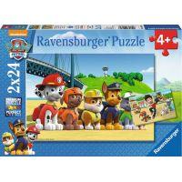 Ravensburger Tlapková Patrola: Stateční psi 2x24 dílků