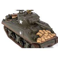 RC Tank Waltersons U.S Sherman M4A3 1:24 - Poškozený obal  3