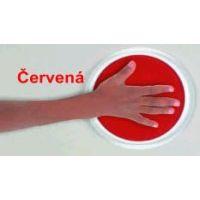 Ready2Learn CE6605 - Kruhový polštářek - červená barva