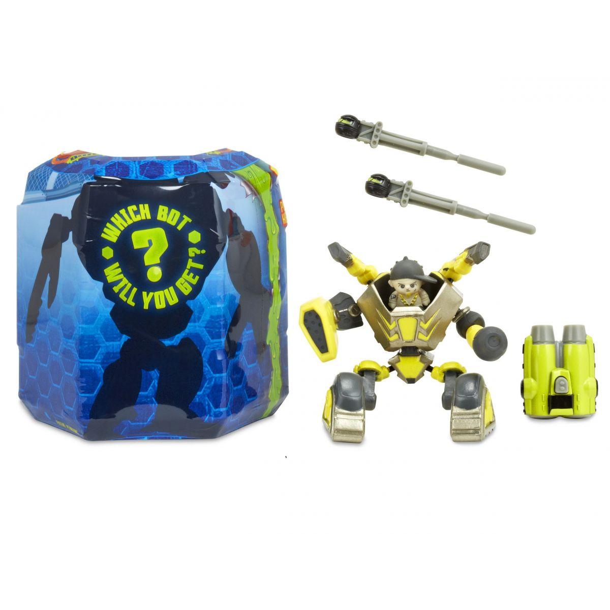Ready2robot Build Swap a Battle hnedožltý Mongo