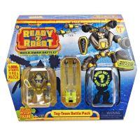 Ready2robot Build Swap a Battle hnedožltý Mongo 3