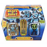 Ready2robot Build, Swap, Battle modrý Thermo 3