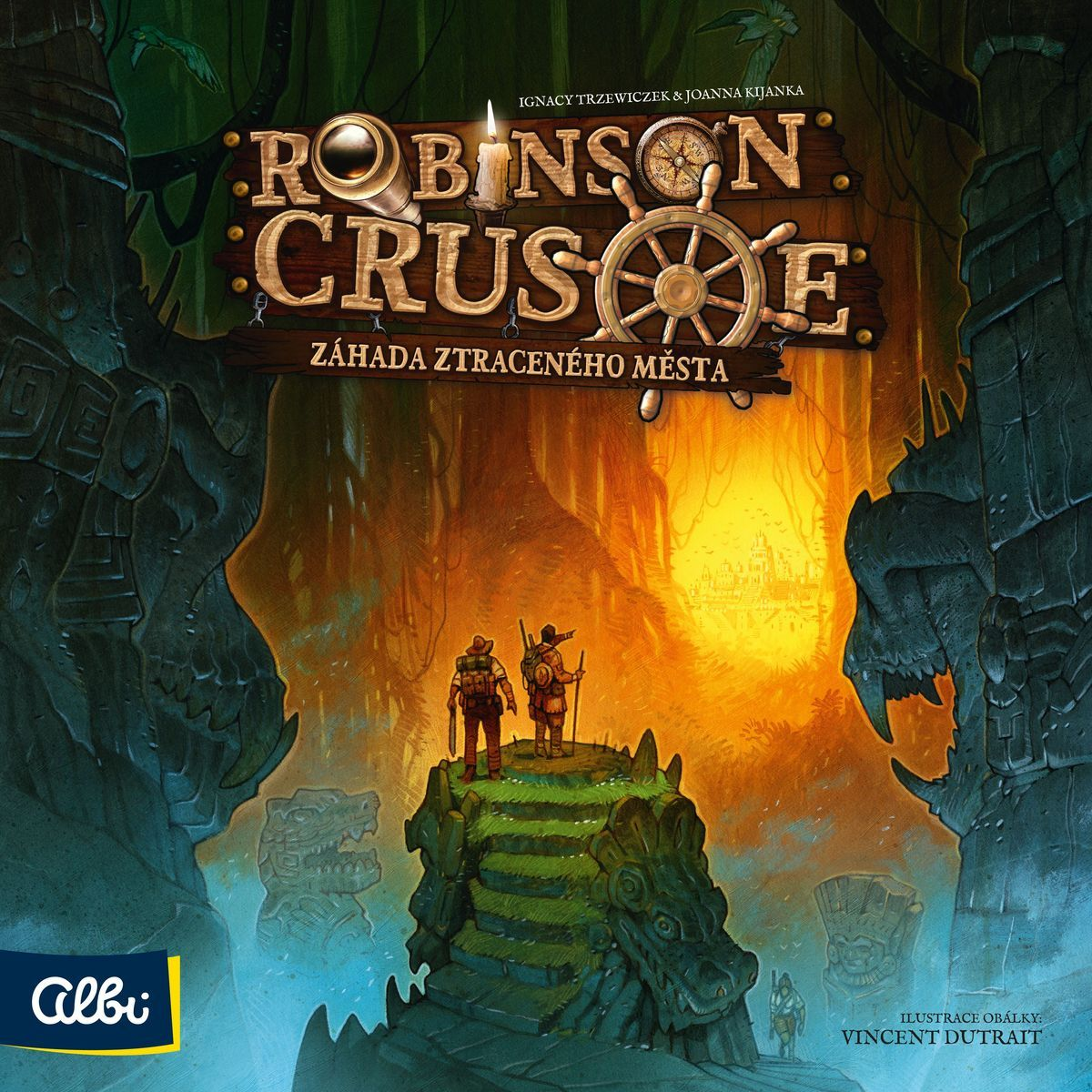 Albi Robinson Crusoe Záhada strateného mesta