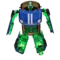 Robocarz 2 v 1 1:64 4 B tm. modrý-zelený