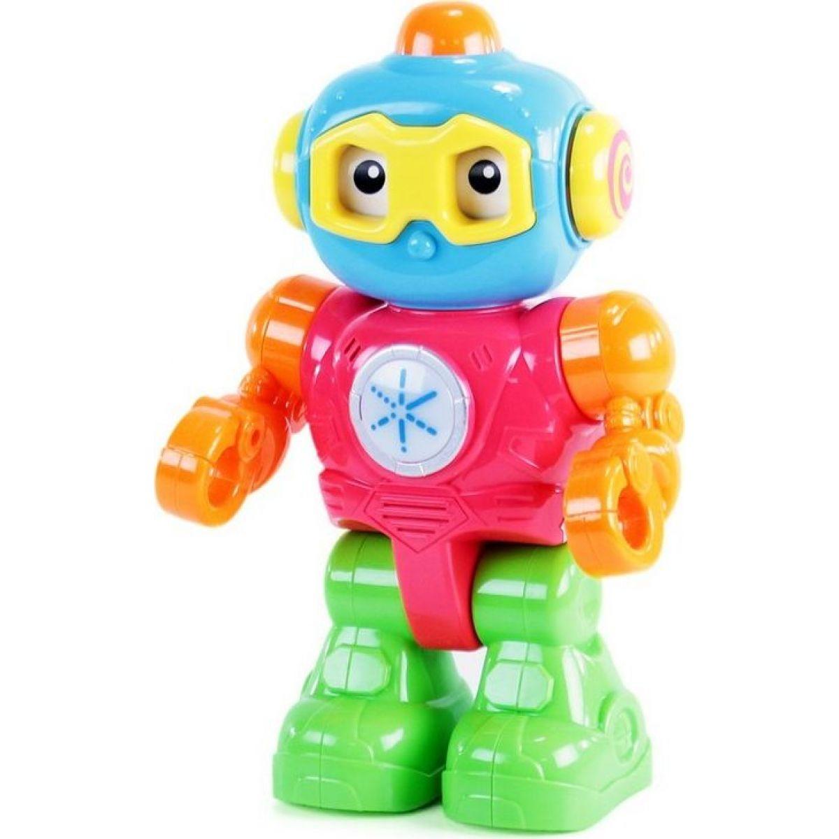Rappa robot farebný so svetlom a zvukom