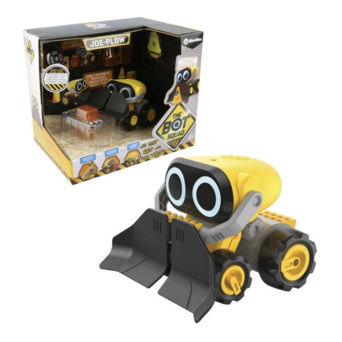 Robot interaktívne Plow
