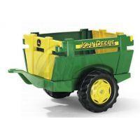 Rolly Toys Farm Trailer JD vlečka za šliapací traktor