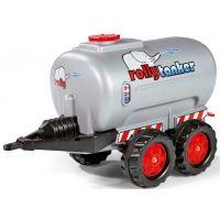Rolly Toys Tanker dvojosý strieborný