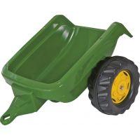 Rolly Toys Vlečka za traktor jednoosá Tmavozelená