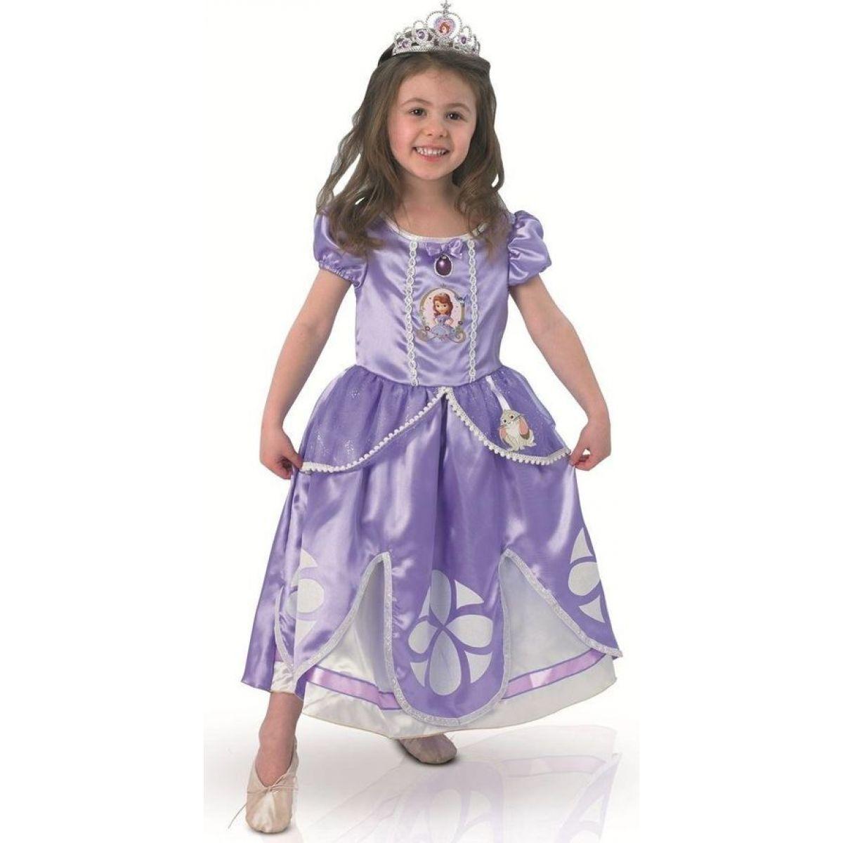 Rubie's Disney Kostým Sofia Deluxe veľ. S