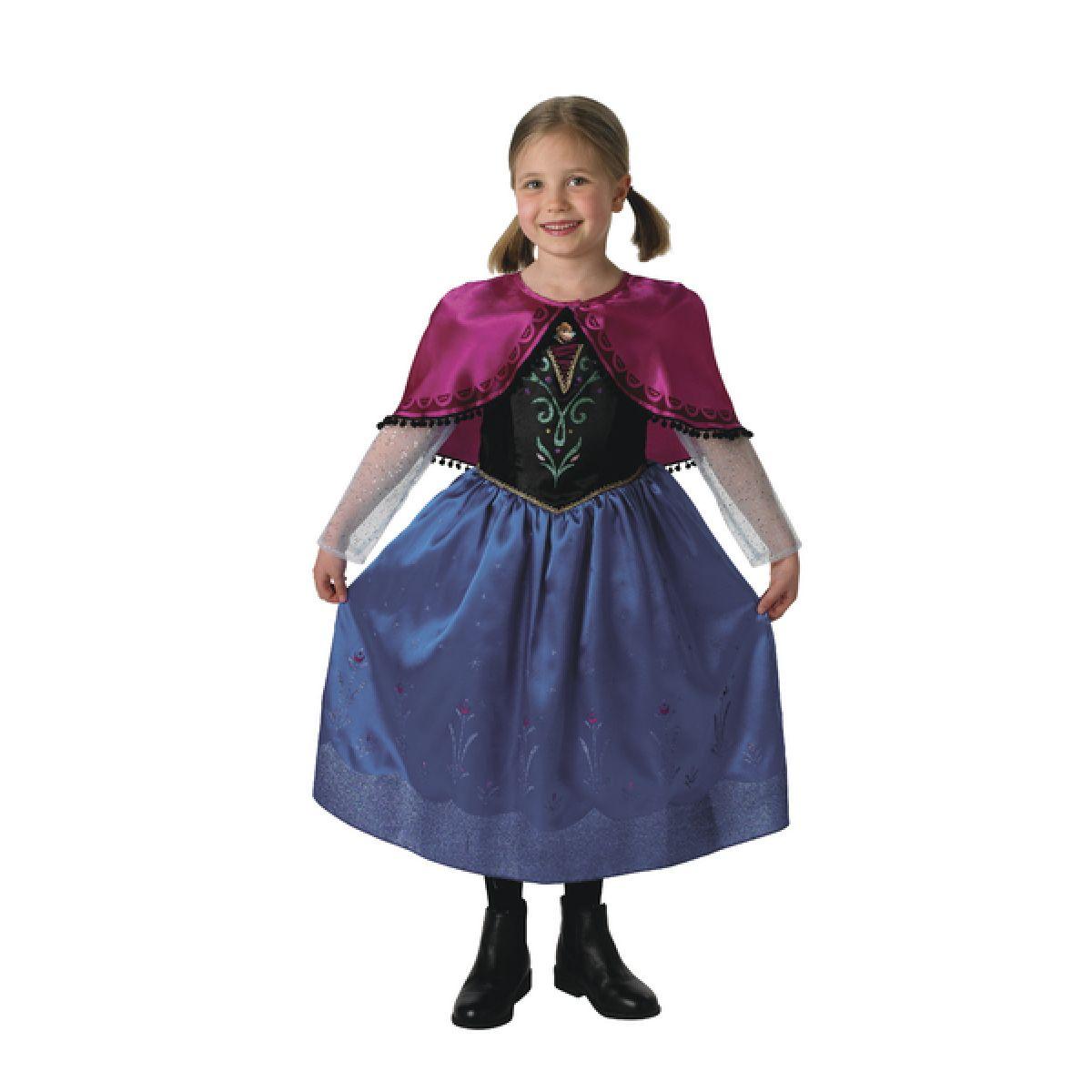 Rubie's Ľadové kráľovstvo Kostým Anna Deluxe veľ. M