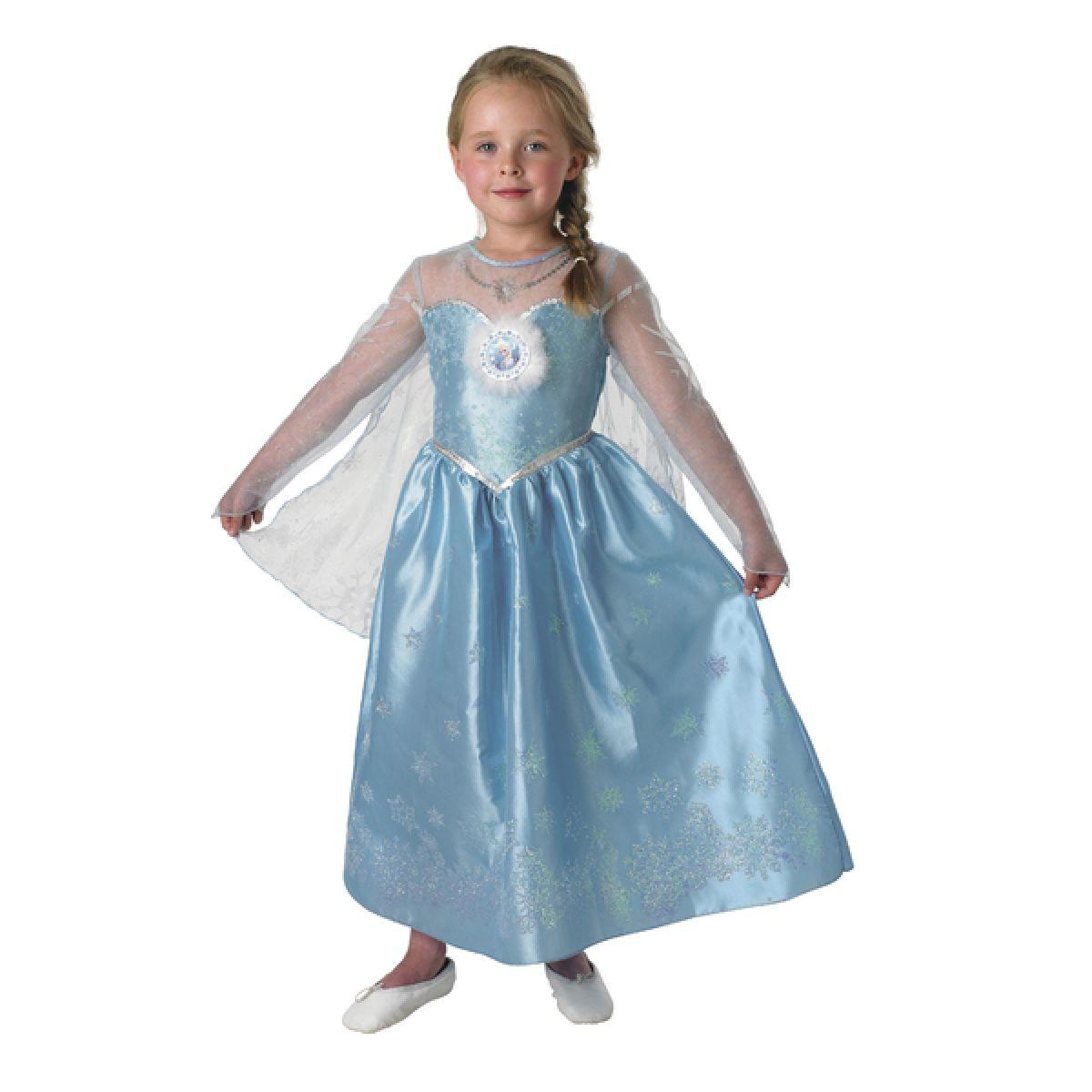 Rubie's Ľadové kráľovstvo Kostým Elsa Deluxe veľ.S