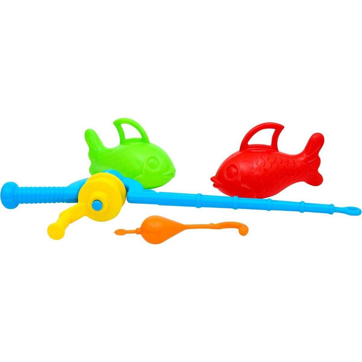 Toy Rybárska udica plastová detská s rybkami