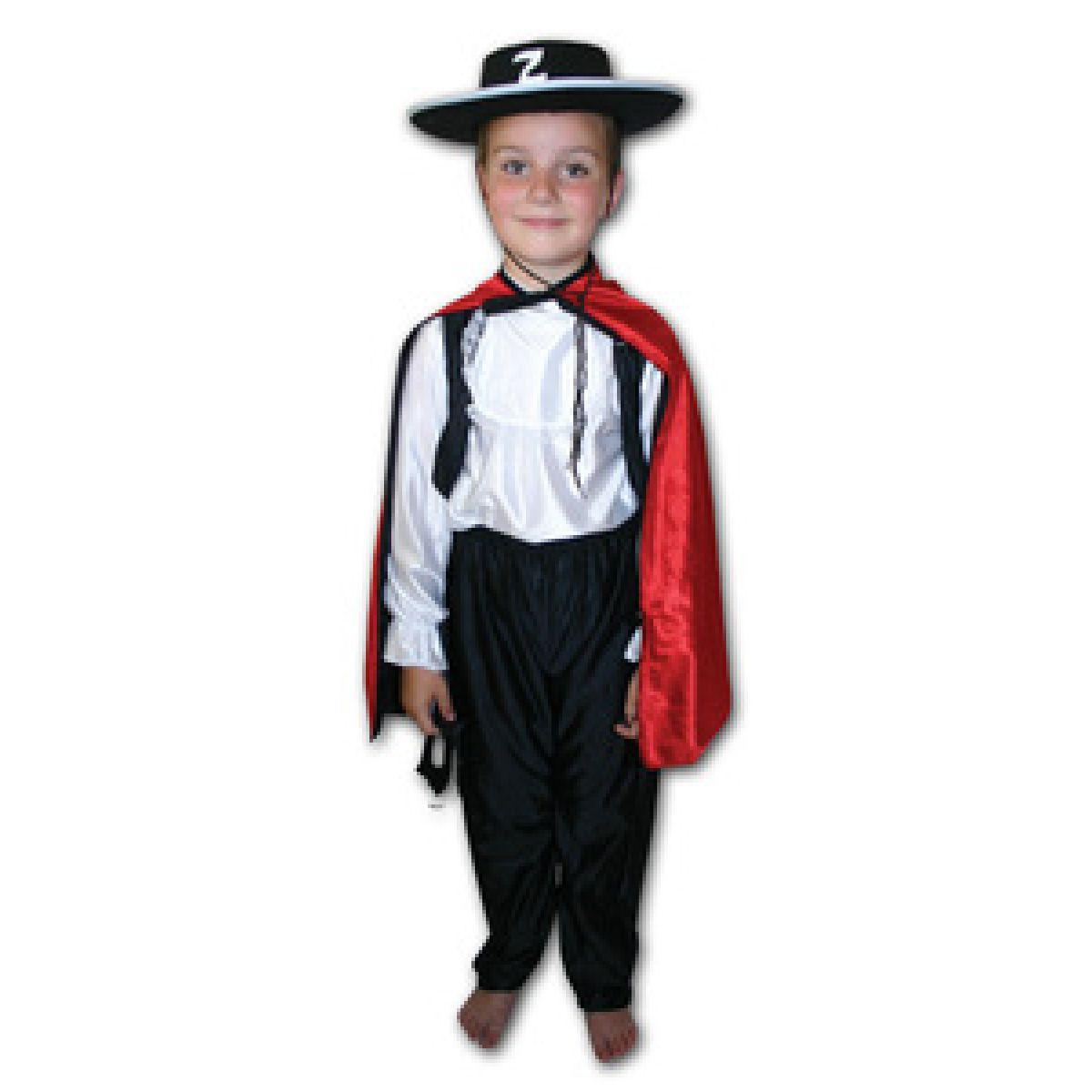 Rappa Kostým  Zorro veľ. S,M
