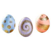Sada k dekorovanie vajíčok - zlaté zdobenie 2