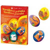Sada k dekorování vajíček - korálková zvířátka