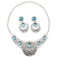 Sada krásy veľká s plastovou korunkou a náhrdelníkom s náušnicami 3