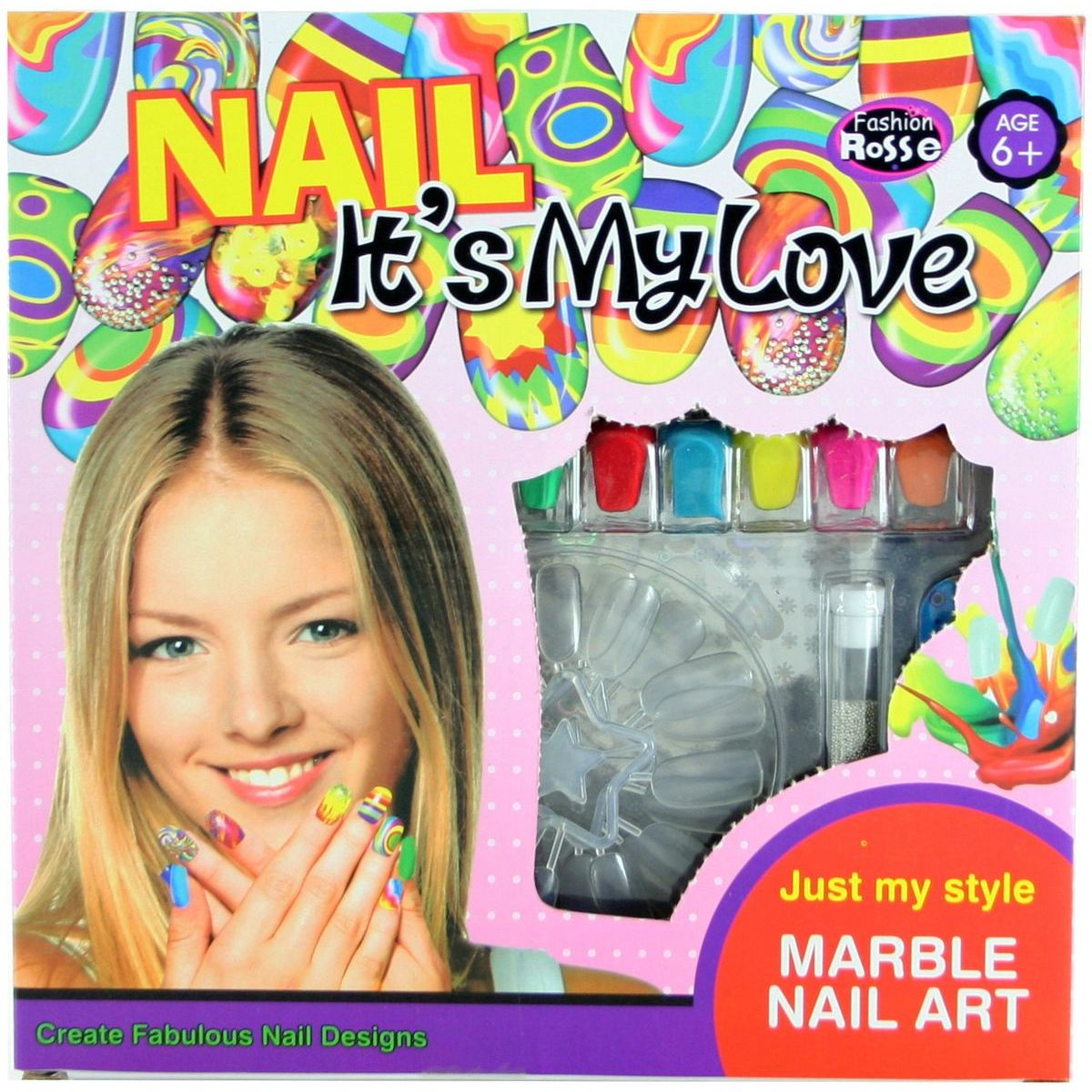 Sada maľovanie na nechty