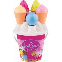 Androni Sada na piesok zmrzlina a cup cake ružové vedierko