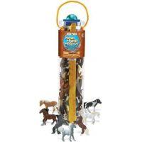 Safari Ltd Mega tuba Koně a poníci