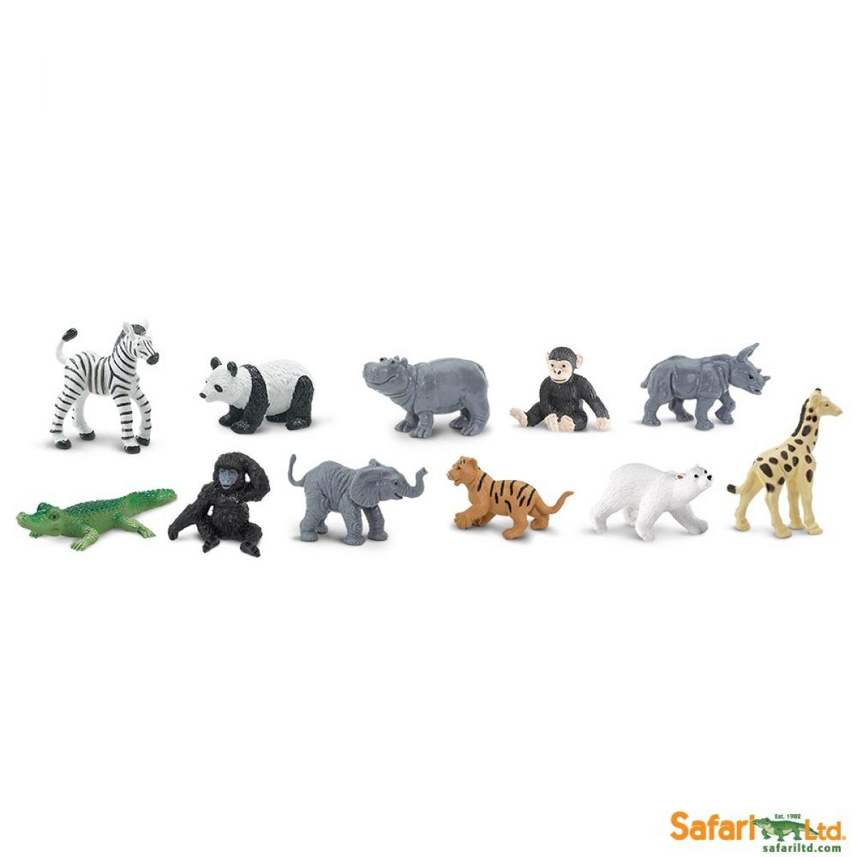 Safari Ltd. Tuba Mláďatá zo Zoo
