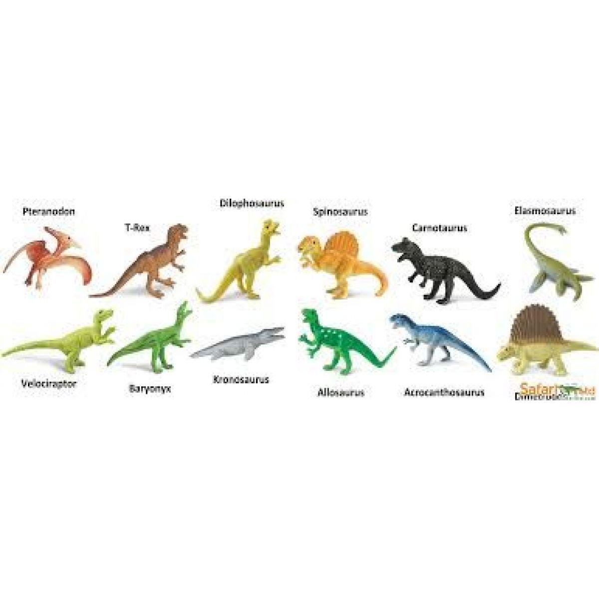 Safari Ltd Tuba mäsožravé dinosaury