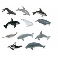 SAFARI Ltd. Tuba s figúrkami Veľryby a delfíny