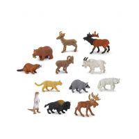 Safari Ltd. 697004 Tuba Zvířata Severní Ameriky