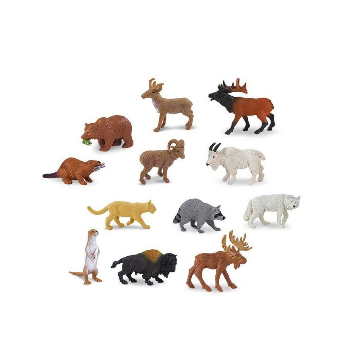 Safari Ltd Tuba Zvieratá Severnej Ameriky